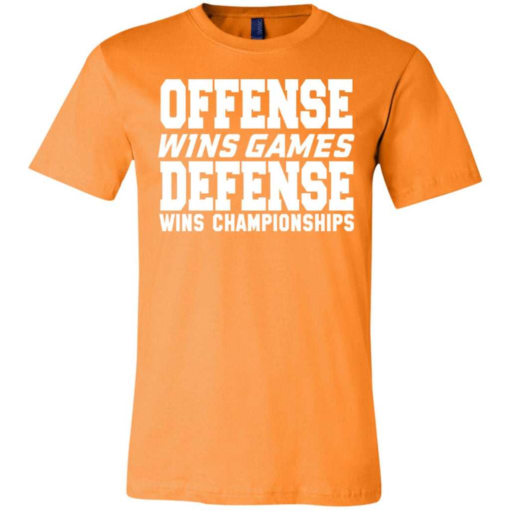62 Offense Defense 3001C Bella + Canvas Unisex Jersey Short-Sleeve T-Shirt, T-Shirts, Whip Me Wear Fashion & T-Shirts
