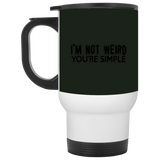 790 XP8400W White Travel Mug, Drinkware, Whip Me Wear Fashion & T-Shirts