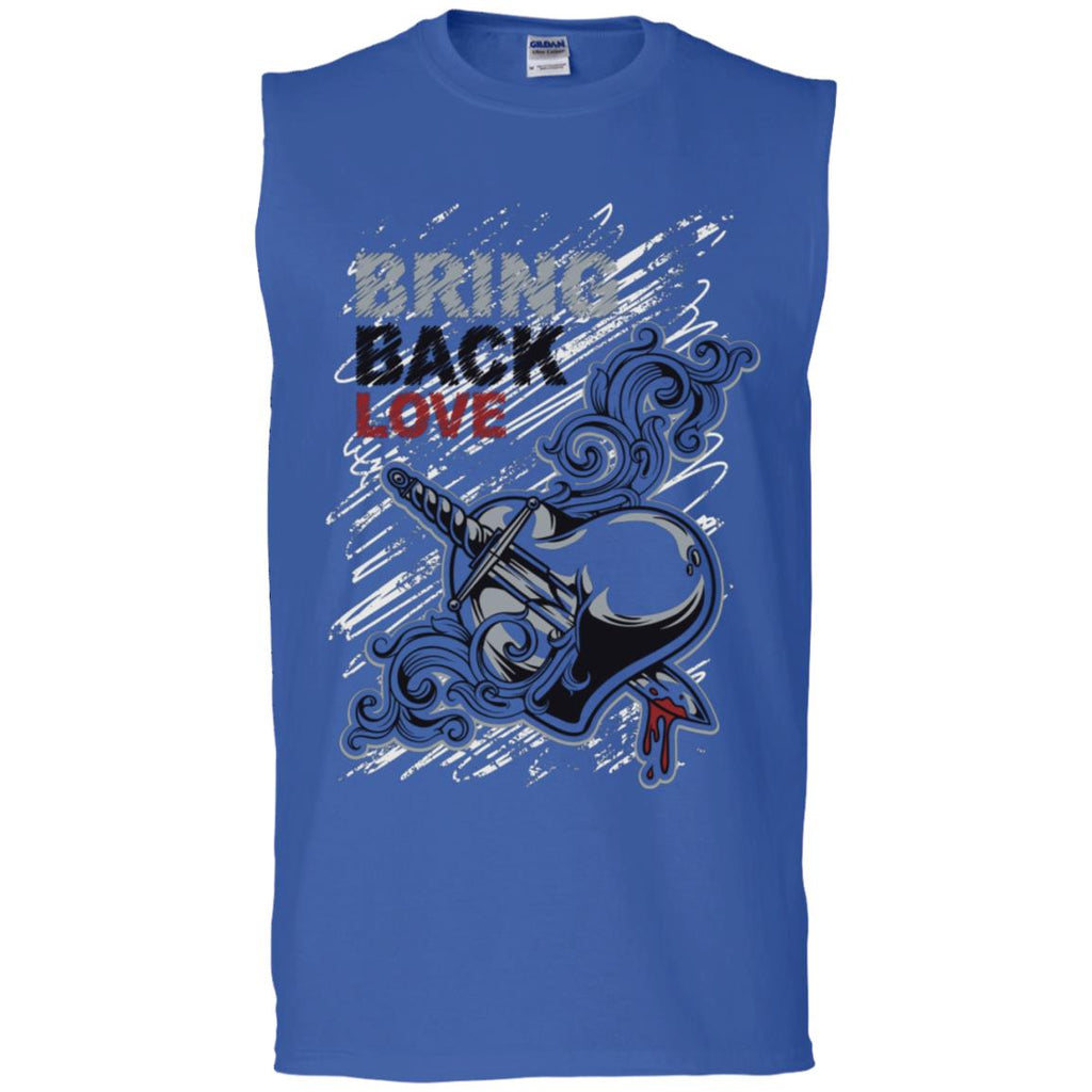 D601 Bring Love Back G270 Gildan Men's Ultra Cotton Sleeveless T-Shirt, T-Shirts, Whip Me Wear Fashion & T-Shirts