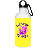 A-2 Espresso Me Alatte - 23663 20 oz. Stainless Steel Water Bottle, Drinkware, Whip Me Wear Fashion & T-Shirts