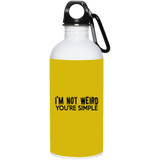 790 23663 20 oz. Stainless Steel Water Bottle, Drinkware, Whip Me Wear Fashion & T-Shirts