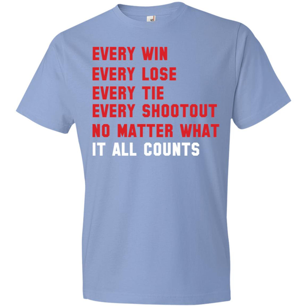 280 Win Lose Tie It Counts 980 Anvil Lightweight T-Shirt 4.5 oz, T-Shirts, Whip Me Wear Fashion & T-Shirts