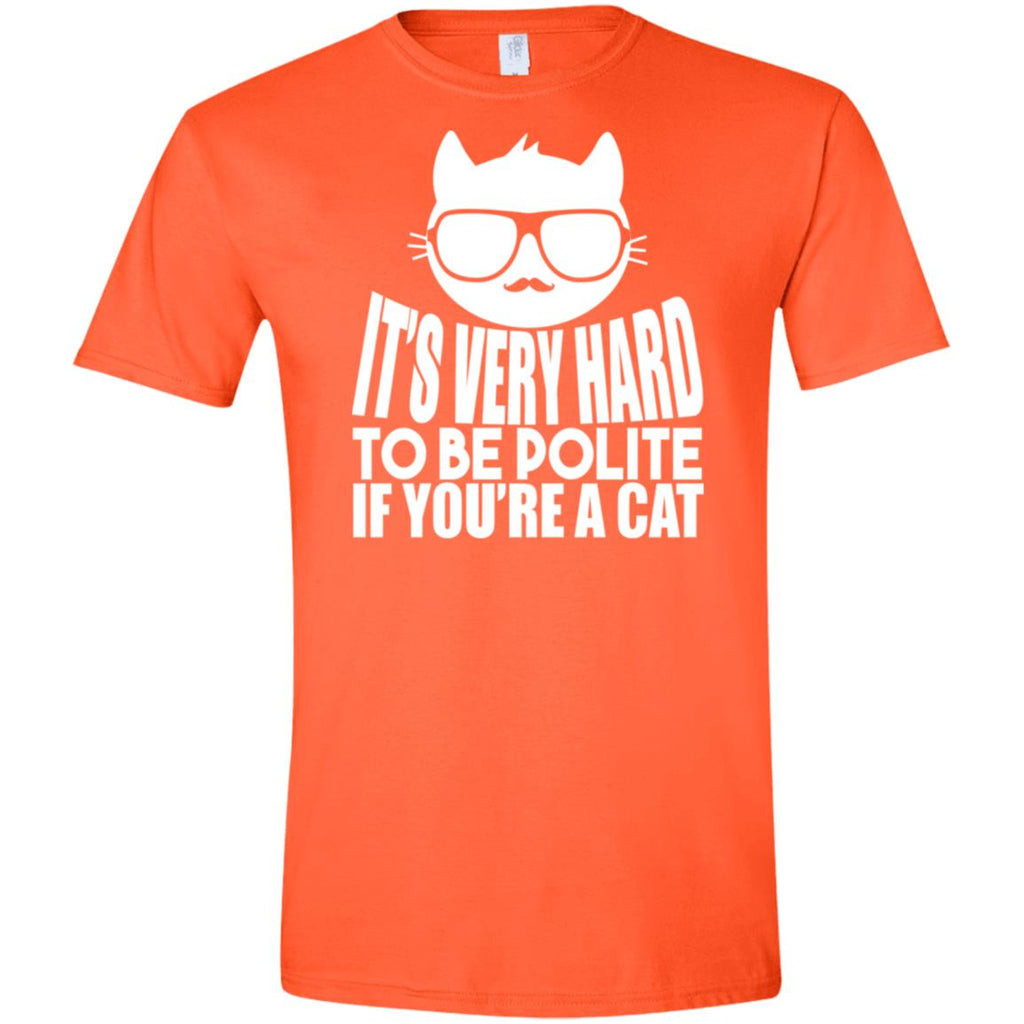 Hard To Be Polite Cat, T-Shirts, Whip Me Wear Fashion & T-Shirts
