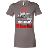 GB1 GOD BEHIND 6004 Bella + Canvas Ladies' Favorite T-Shirt, T-Shirts, Whip Me Wear Fashion & T-Shirts