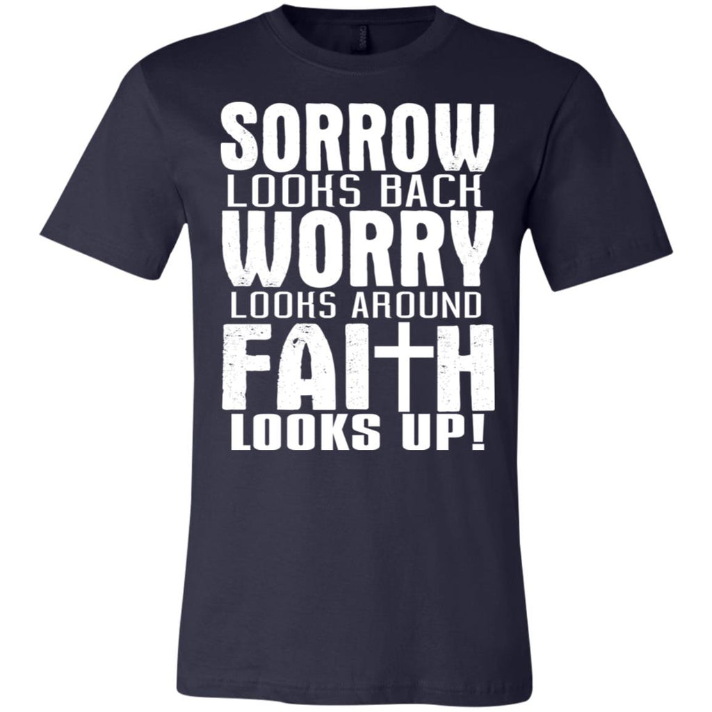 192 Faith Looks Up! Unisex Jersey Short-Sleeve T-Shirt, T-Shirts, Whip Me Wear Fashion & T-Shirts
