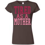 726 Tired As A Mother G640L Gildan Softstyle Ladies' T-Shirt, T-Shirts, Whip Me Wear Fashion & T-Shirts
