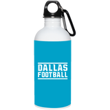 563 Dallas Football 23663 20 oz. Stainless Steel Water Bottle, Drinkware, Whip Me Wear Fashion & T-Shirts