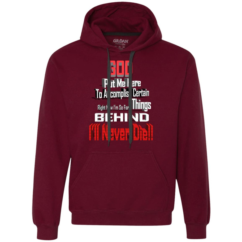 GB1 God Put Me Here G925 Gildan Heavyweight Pullover Fleece Sweatshirt, Sweatshirts, Whip Me Wear Fashion & T-Shirts