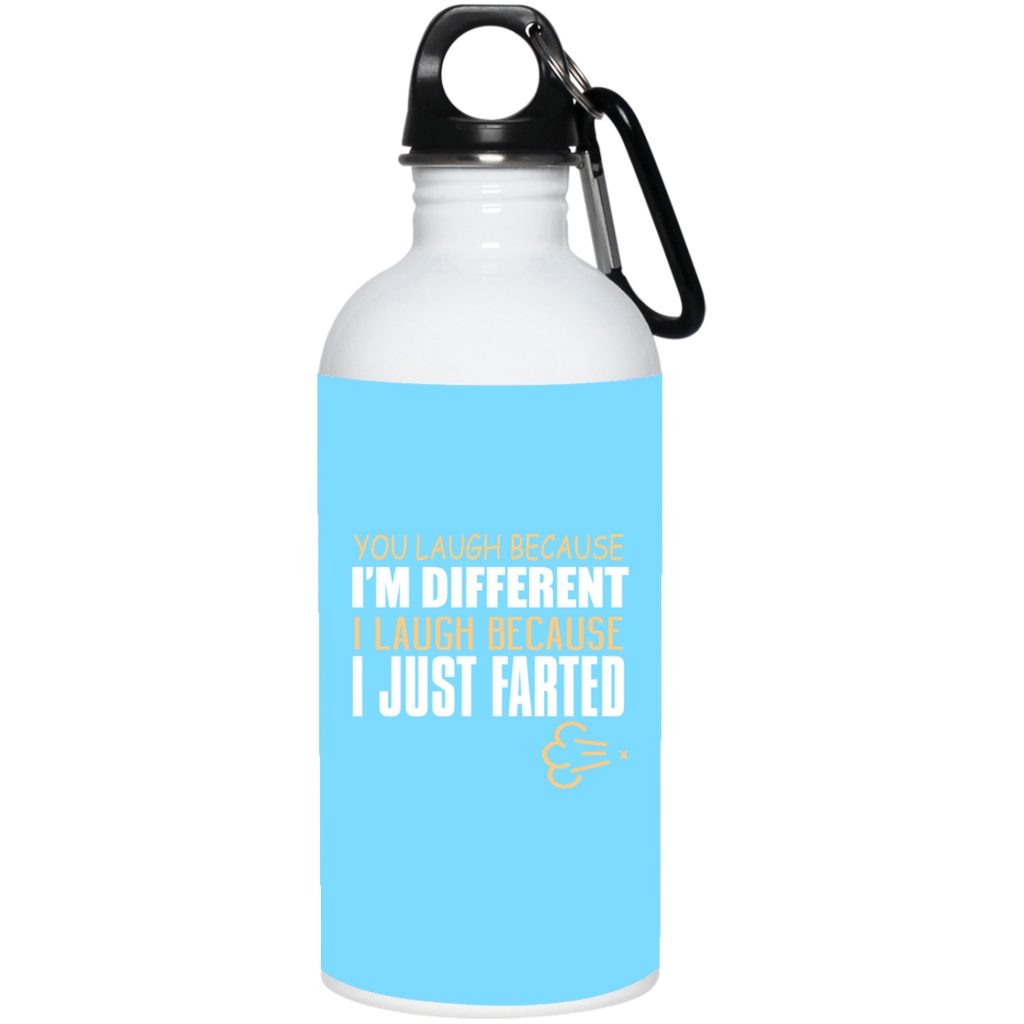 291 23663 20 oz. Stainless Steel Water Bottle, Drinkware, Whip Me Wear Fashion & T-Shirts