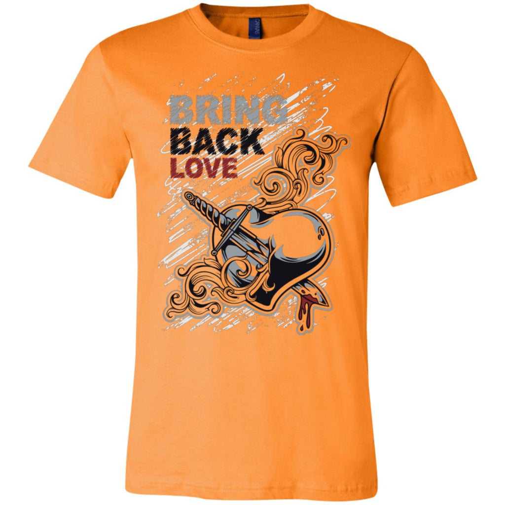 D601 Bring Love Back 3001C Bella + Canvas Unisex Jersey Short-Sleeve T-Shirt, T-Shirts, Whip Me Wear Fashion & T-Shirts