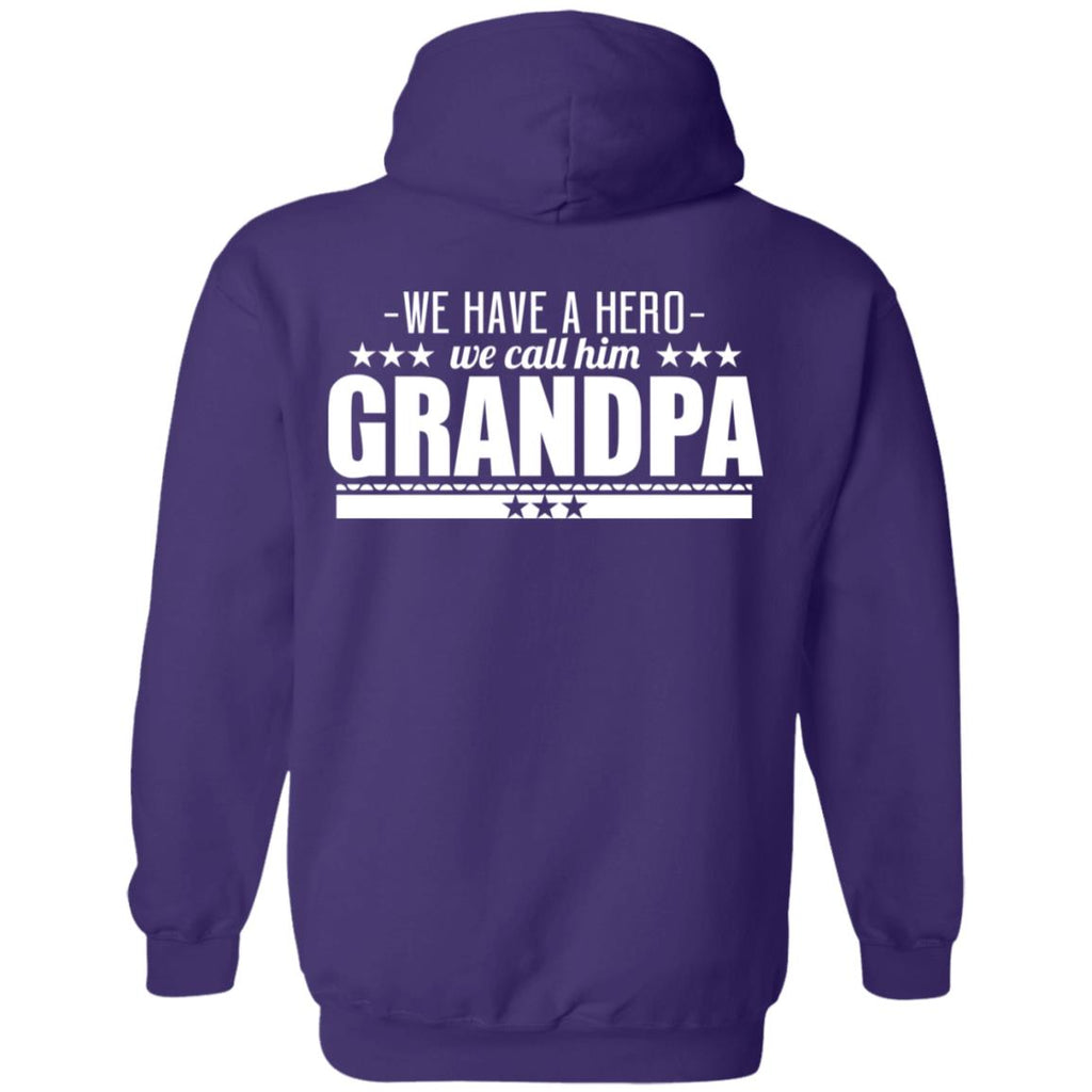 245 Hero We Call Grandpa G185 Gildan Pullover Hoodie 8 oz., Sweatshirts, Whip Me Wear Fashion & T-Shirts