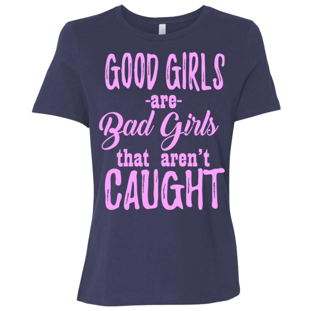 439 Good Girls Bad Girls B6400 Bella + Canvas Ladies' Relaxed Jersey Short-Sleeve T-Shirt, T-Shirts, Whip Me Wear Fashion & T-Shirts