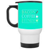 602 XP8400W White Travel Mug, Drinkware, Whip Me Wear Fashion & T-Shirts
