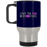 759 XP8400S Silver Stainless Travel Mug, Drinkware, Whip Me Wear Fashion & T-Shirts