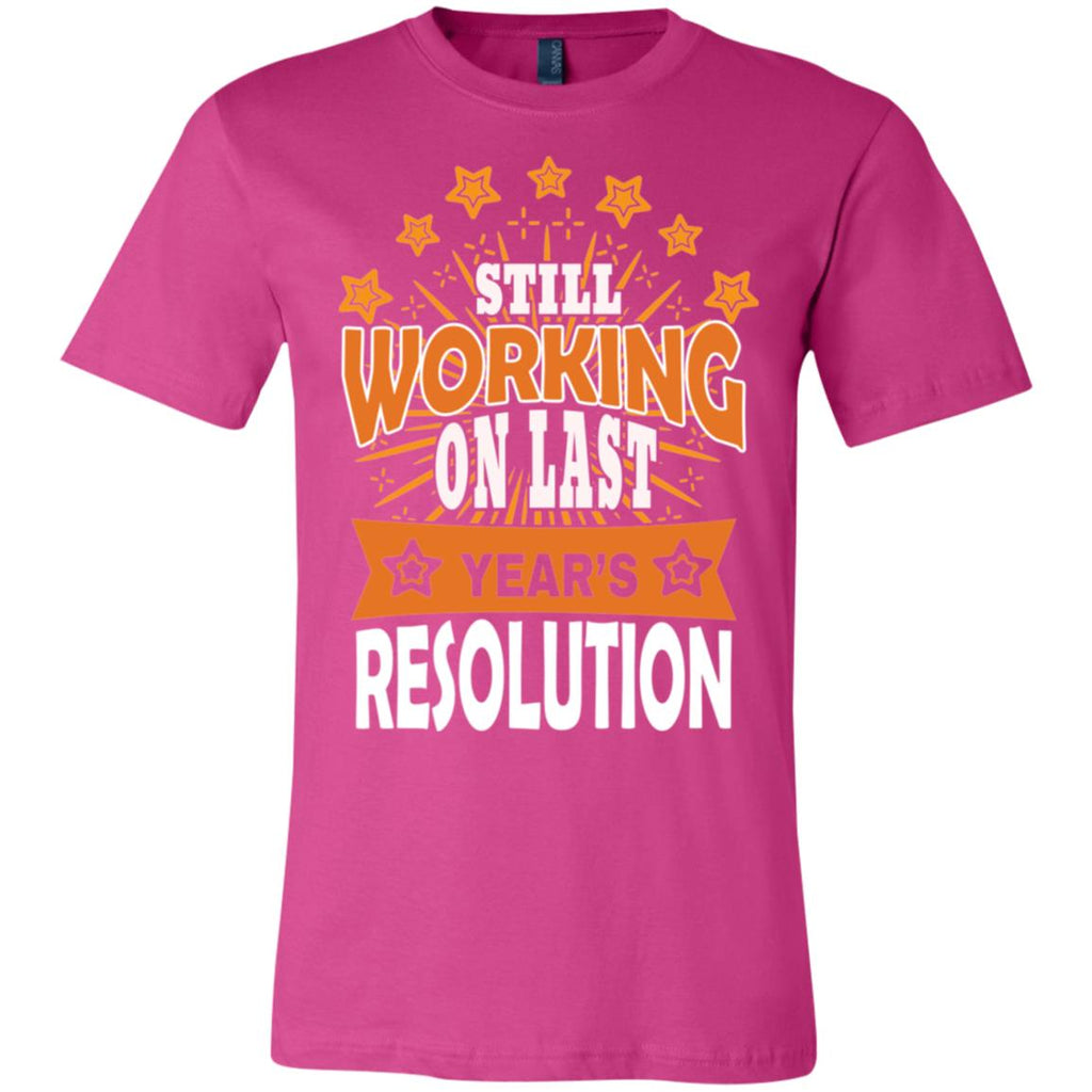D1524 Last Years Resolution 3001C Bella + Canvas Unisex Jersey Short-Sleeve T-Shirt, T-Shirts, Whip Me Wear Fashion & T-Shirts