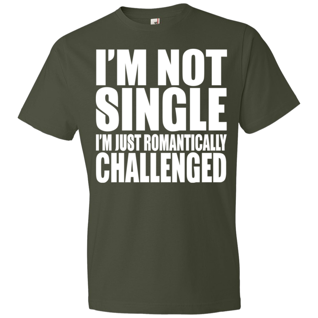 81 I'm Not Single I'm Just Romantically 980 Anvil Lightweight T-Shirt 4.5 oz, T-Shirts, Whip Me Wear Fashion & T-Shirts