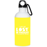 293 23663 20 oz. Stainless Steel Water Bottle, Drinkware, Whip Me Wear Fashion & T-Shirts
