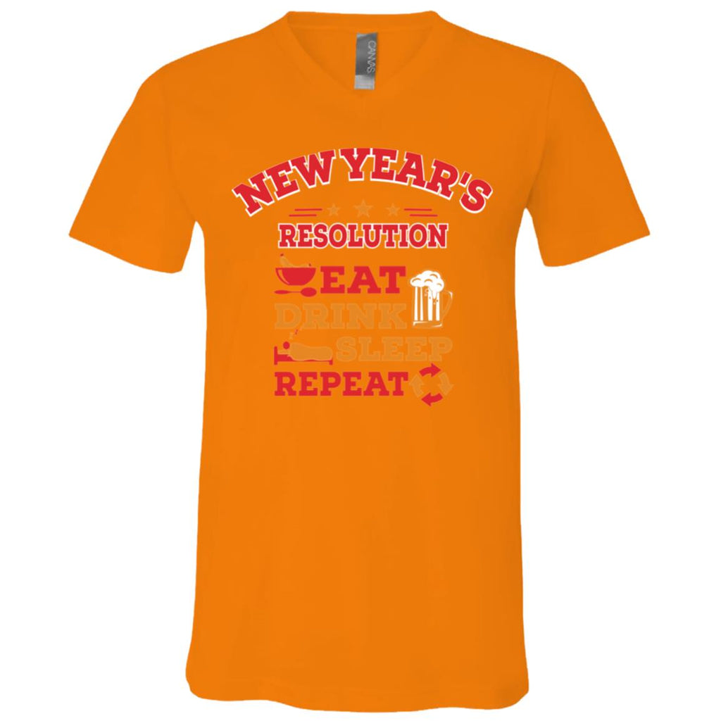 D1525 New Years Repeat 3005 Bella + Canvas Unisex Jersey SS V-Neck T-Shirt, T-Shirts, Whip Me Wear Fashion & T-Shirts