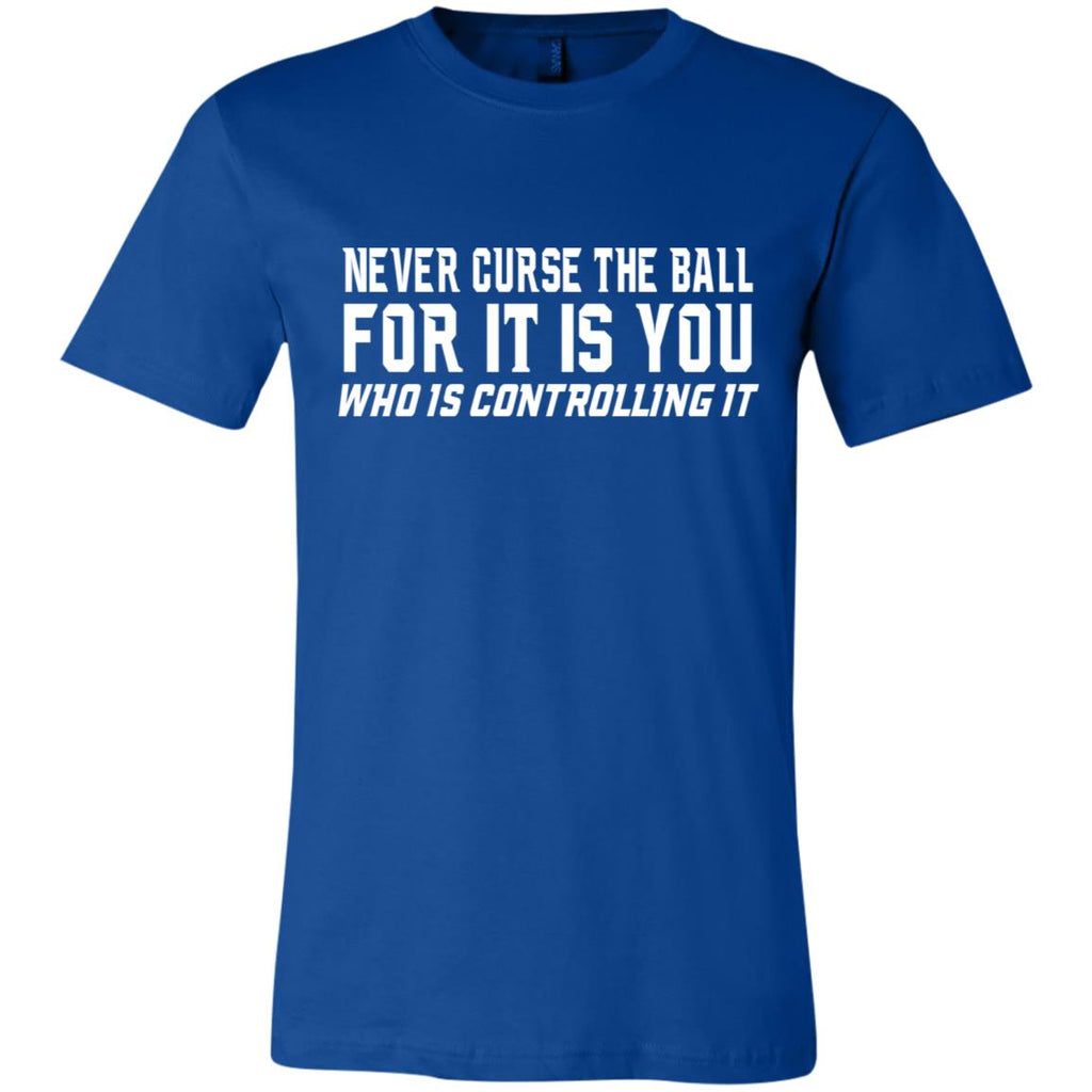 273 Never Curse Ball 3001C Bella + Canvas Unisex Jersey Short-Sleeve T-Shirt, T-Shirts, Whip Me Wear Fashion & T-Shirts