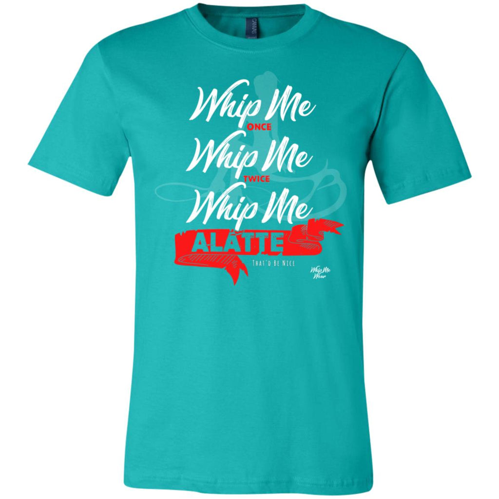 AAA Whip Me Alatte MB 3001C Bella + Canvas Unisex Jersey Short-Sleeve T-Shirt, T-Shirts, Whip Me Wear Fashion & T-Shirts