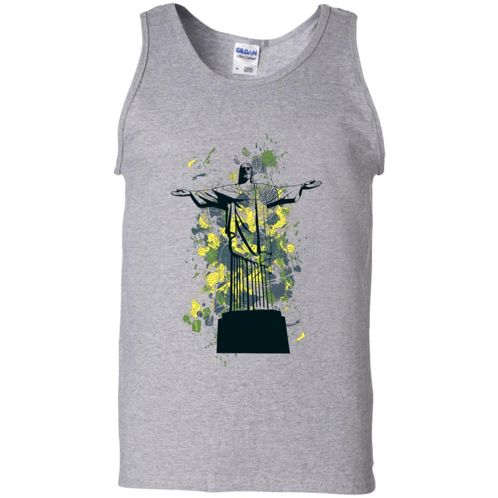 D858 Graphic Cross G220 Gildan 100% Cotton Tank Top, T-Shirts, Whip Me Wear Fashion & T-Shirts