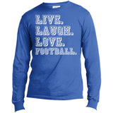 274 Love Football USA100LS Port & Co. LS Made in the US T-Shirt, T-Shirts, Whip Me Wear Fashion & T-Shirts