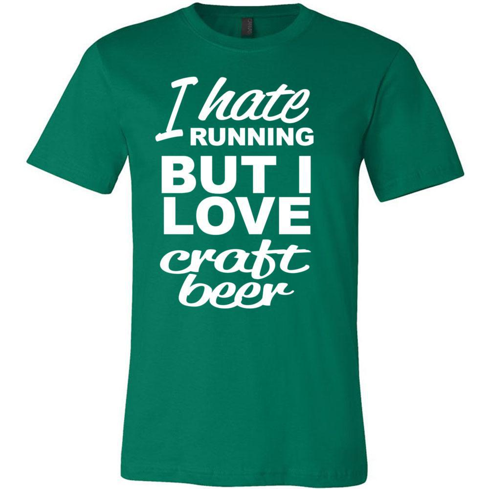 Hate Running Love Craft Beer, T-Shirts, Whip Me Wear Fashion & T-Shirts