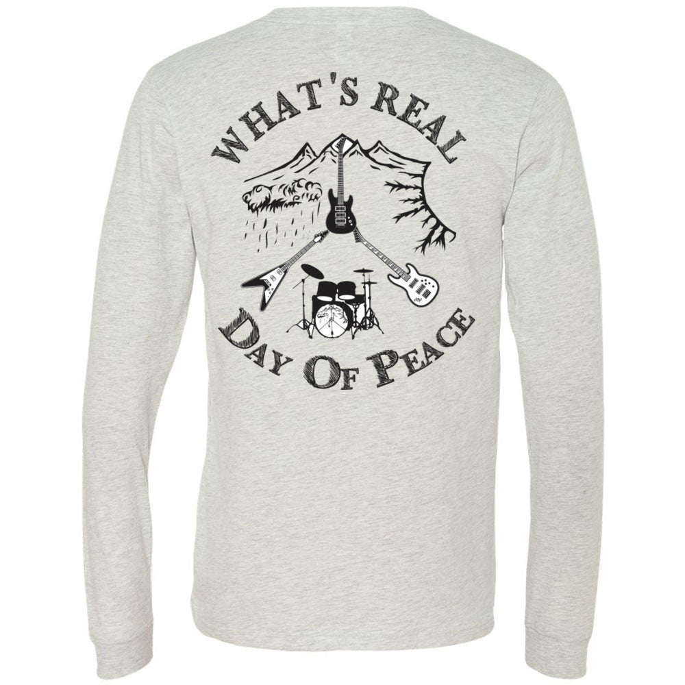 Men's Day Of Peace Rock Shirt Jersey Tee - Long Sleeve Jersey Tee, T-Shirts, Whip Me Wear Fashion & T-Shirts