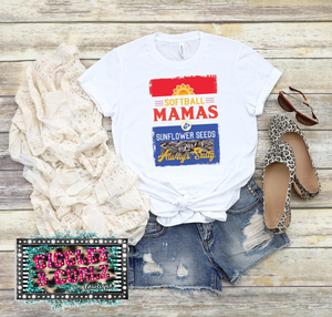 Softball Mama & Seeds Graphic Tee