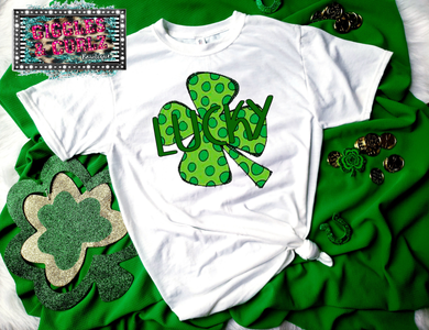 LUCKY DOTS CLOVER Graphic Tee