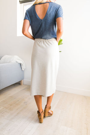 Free Bird Drawstring Skirt