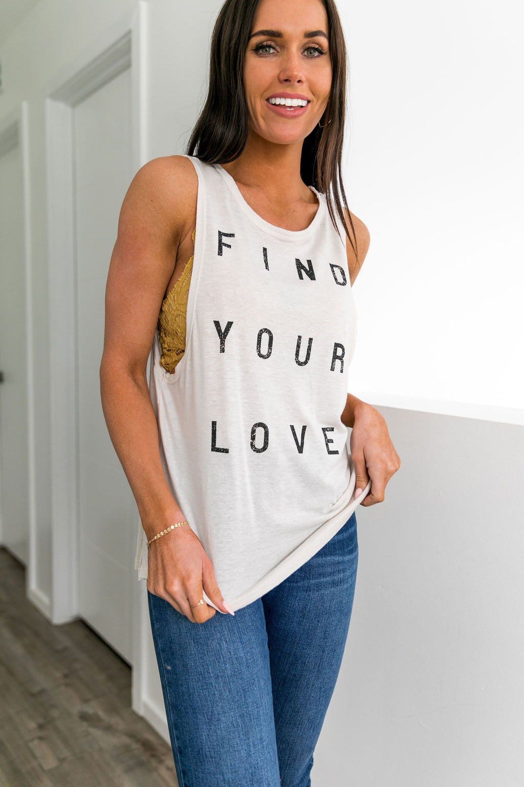Find Your Love Graphic Tank