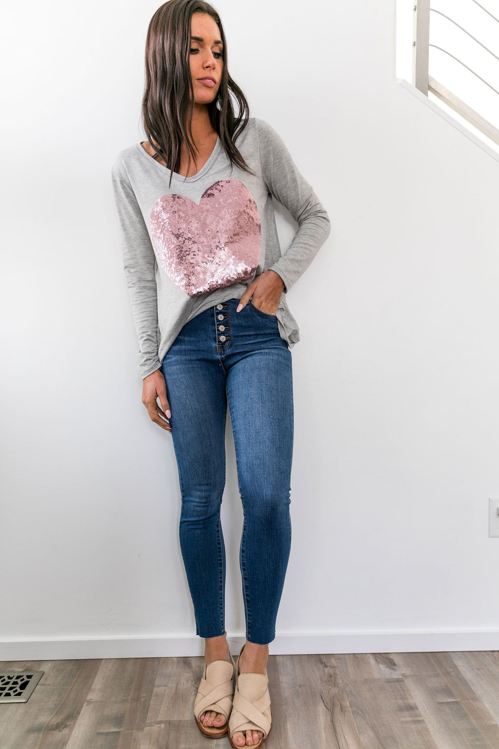 On The Fly High-Rise Skinnies