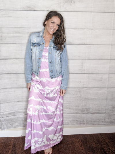 Tie Dye Maxi Purple-[option4]-[option5]-[option6]-[option7]-[option8]-Womens-Clothing-Shop
