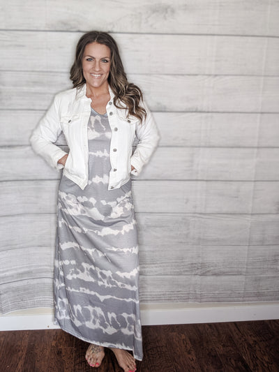 Tie Dye Maxi Gray *Final Sale*-[option4]-[option5]-[option6]-[option7]-[option8]-Womens-Clothing-Shop