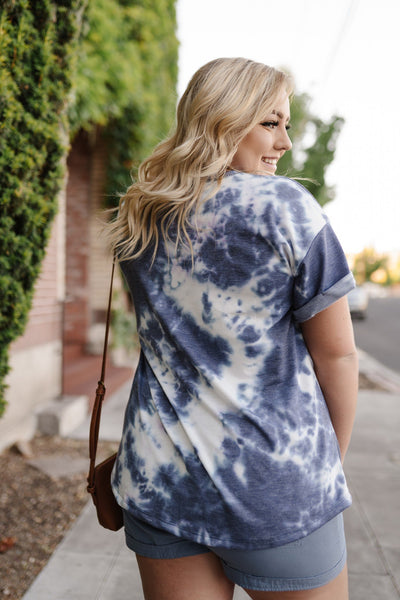 Blue Skies Tie Dye Top-[option4]-[option5]-[option6]-[option7]-[option8]-Womens-Clothing-Shop
