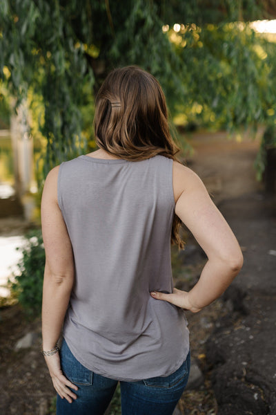 Essential Tank Top In Latte-[option4]-[option5]-[option6]-[option7]-[option8]-Womens-Clothing-Shop