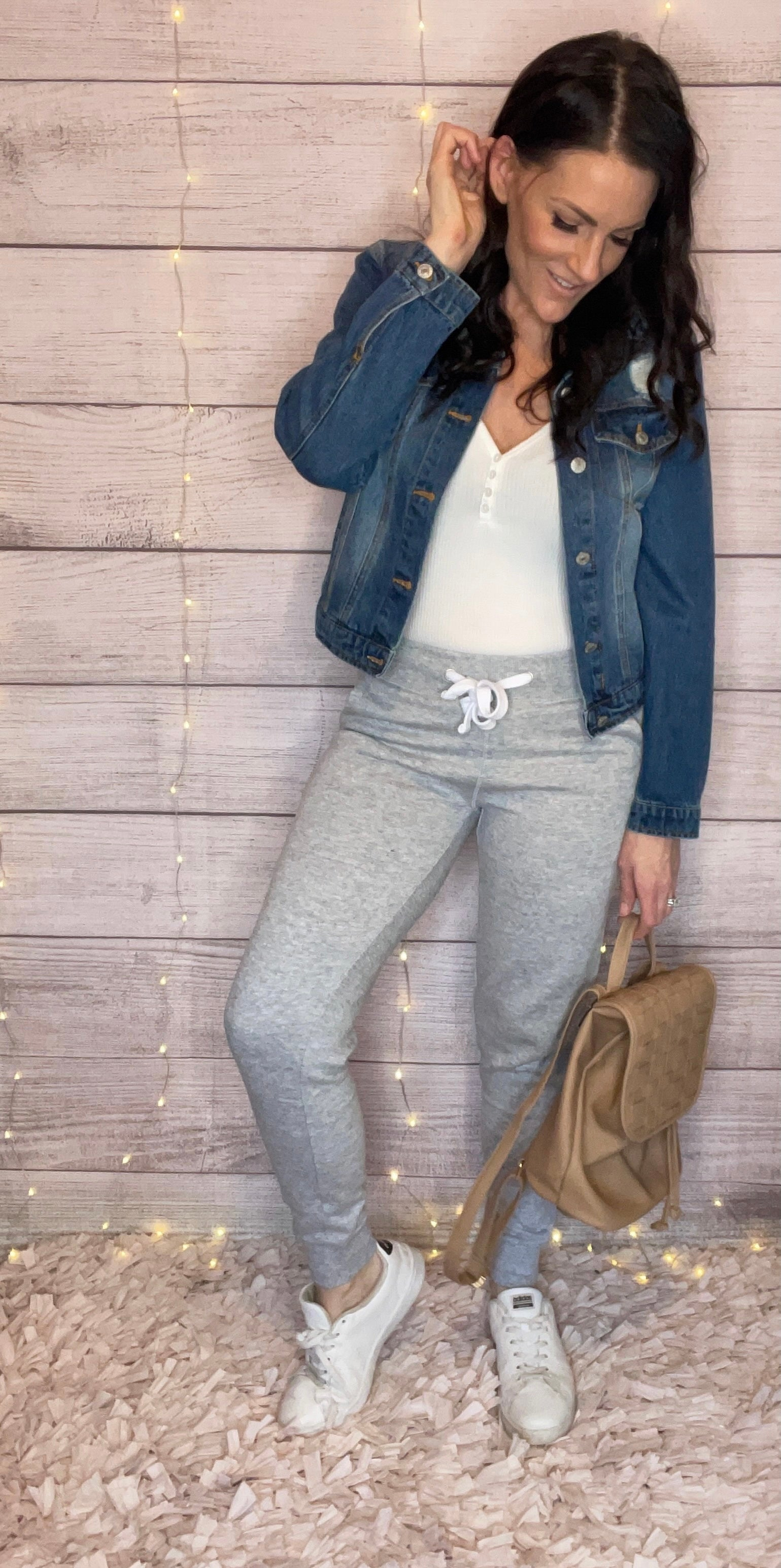 Target Run Joggers In Heather Grey-[option4]-[option5]-[option6]-[option7]-[option8]-Womens-Clothing-Shop