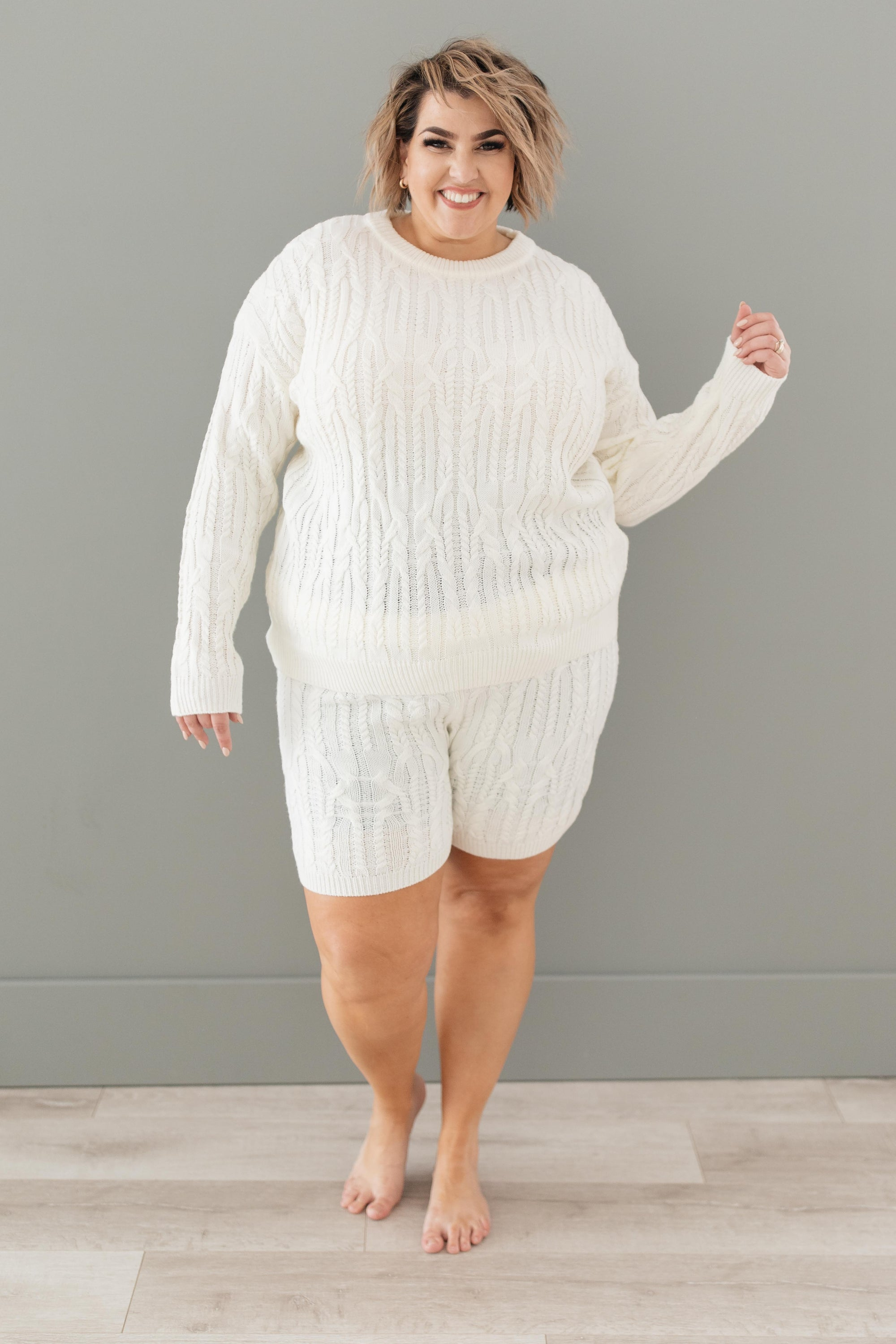 Annie Knit Top in Cream-[option4]-[option5]-[option6]-[option7]-[option8]-Womens-Clothing-Shop