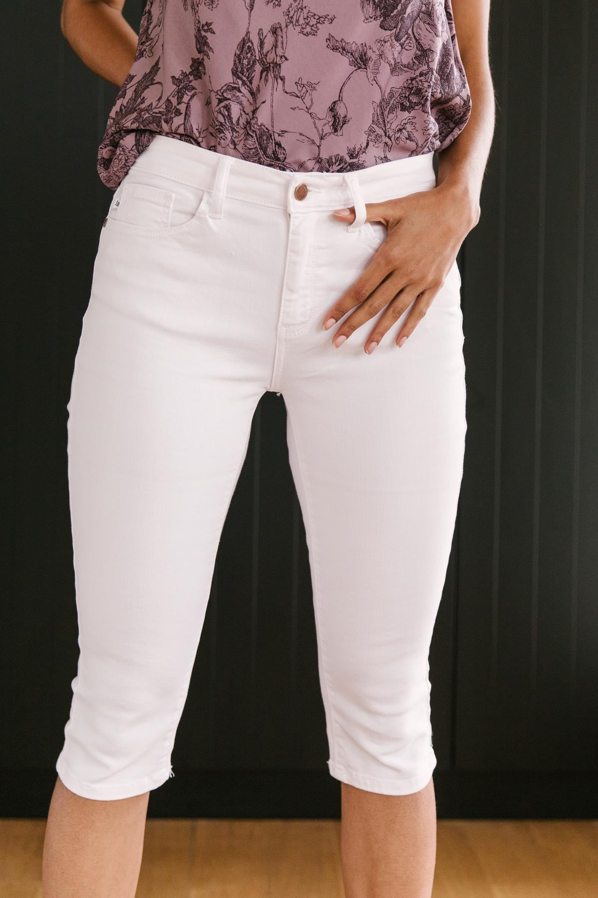 Bright White Capris-[option4]-[option5]-[option6]-[option7]-[option8]-Womens-Clothing-Shop