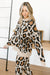 Chasing Sleep Lounge Set Top in Leopard-[option4]-[option5]-[option6]-[option7]-[option8]-Womens-Clothing-Shop