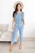 Denim Ruffles Jumpsuit-[option4]-[option5]-[option6]-[option7]-[option8]-Womens-Clothing-Shop