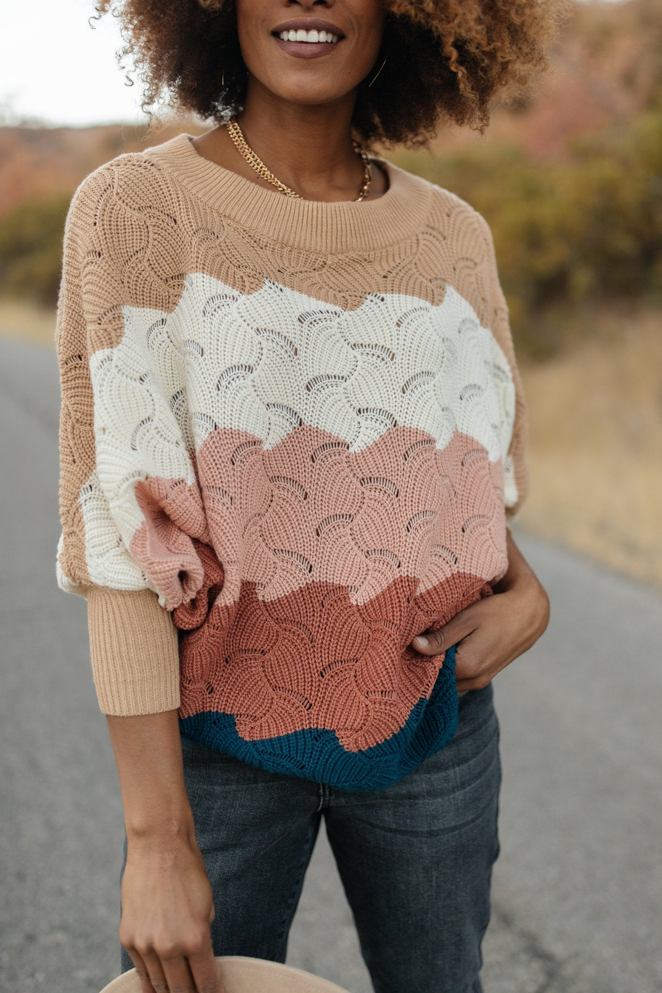 Designed For Details Sweater in Rust-[option4]-[option5]-[option6]-[option7]-[option8]-Womens-Clothing-Shop