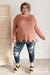 Distressed and Proud Sweater in Ginger-[option4]-[option5]-[option6]-[option7]-[option8]-Womens-Clothing-Shop