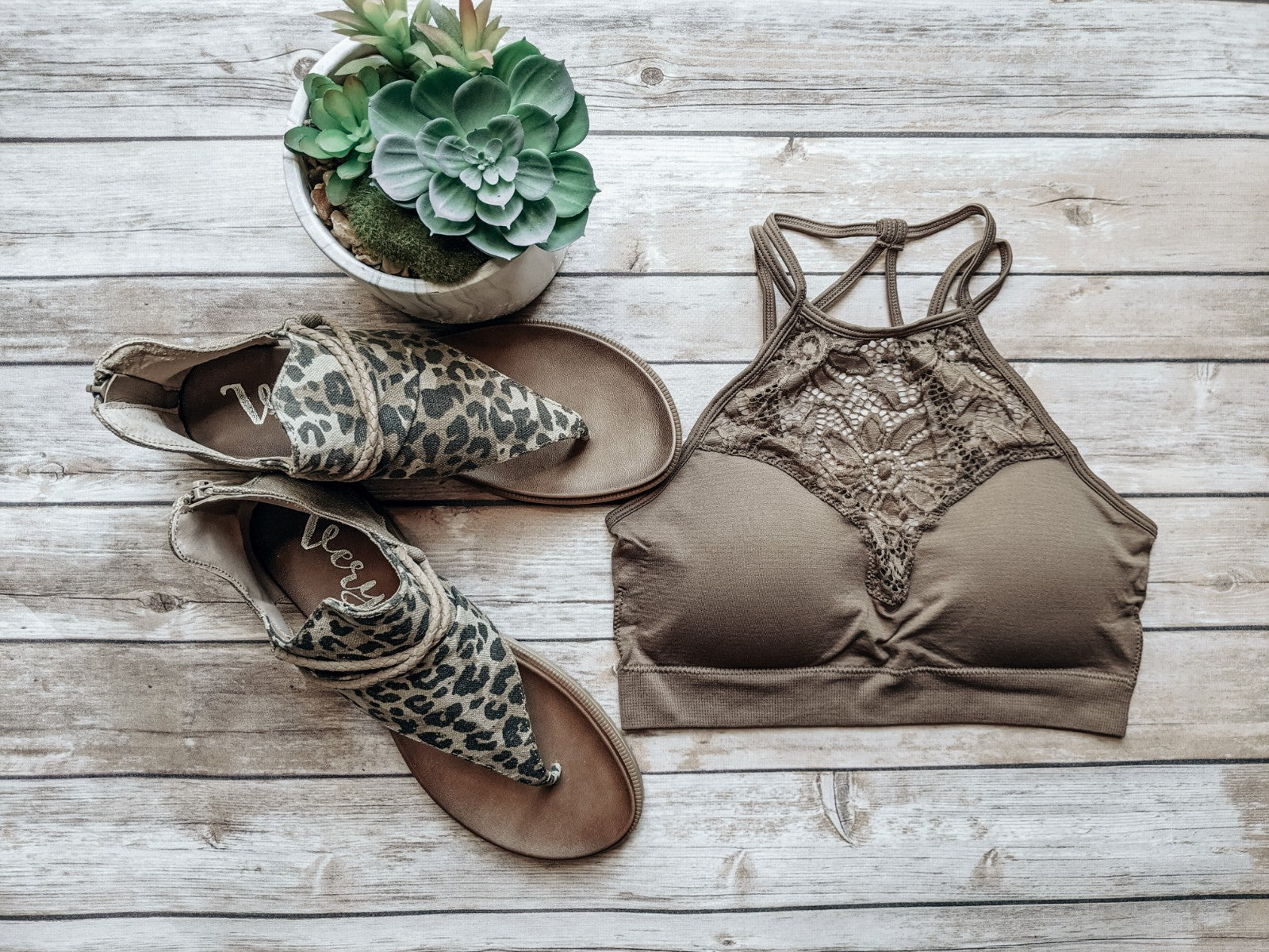 High Neck Lace Cutout Bralette In Mocha-[option4]-[option5]-[option6]-[option7]-[option8]-Womens-Clothing-Shop