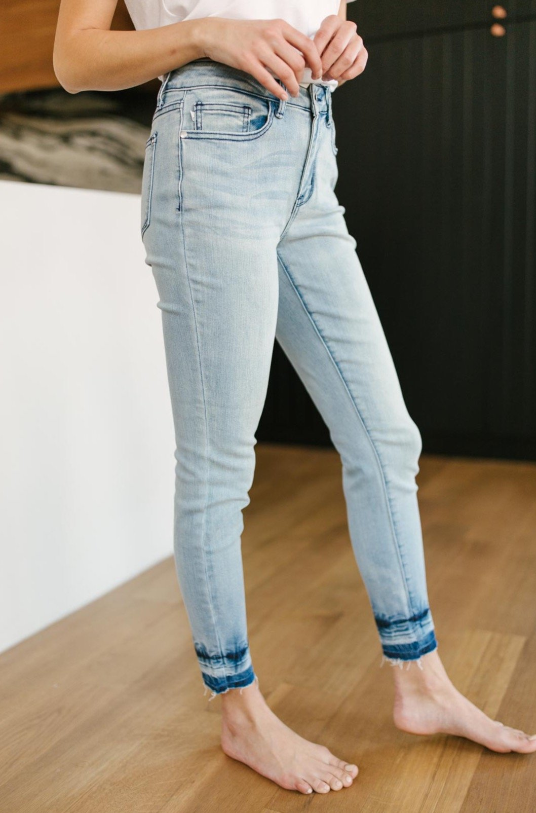 Melted Blues Light Wash Jeans-[option4]-[option5]-[option6]-[option7]-[option8]-Womens-Clothing-Shop