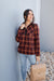 Pretty Plaid Half Zip Pullover-[option4]-[option5]-[option6]-[option7]-[option8]-Womens-Clothing-Shop