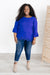 Royal Blue Dream Blouse-[option4]-[option5]-[option6]-[option7]-[option8]-Womens-Clothing-Shop