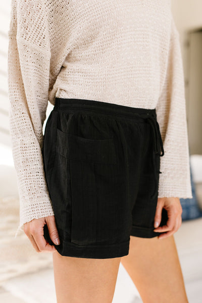 Short 'N' Sweet Shorts In Black *Final Sale*-[option4]-[option5]-[option6]-[option7]-[option8]-Womens-Clothing-Shop