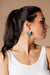 Tasseled V Earrings In FOREST GREEN-[option4]-[option5]-[option6]-[option7]-[option8]-Womens-Clothing-Shop